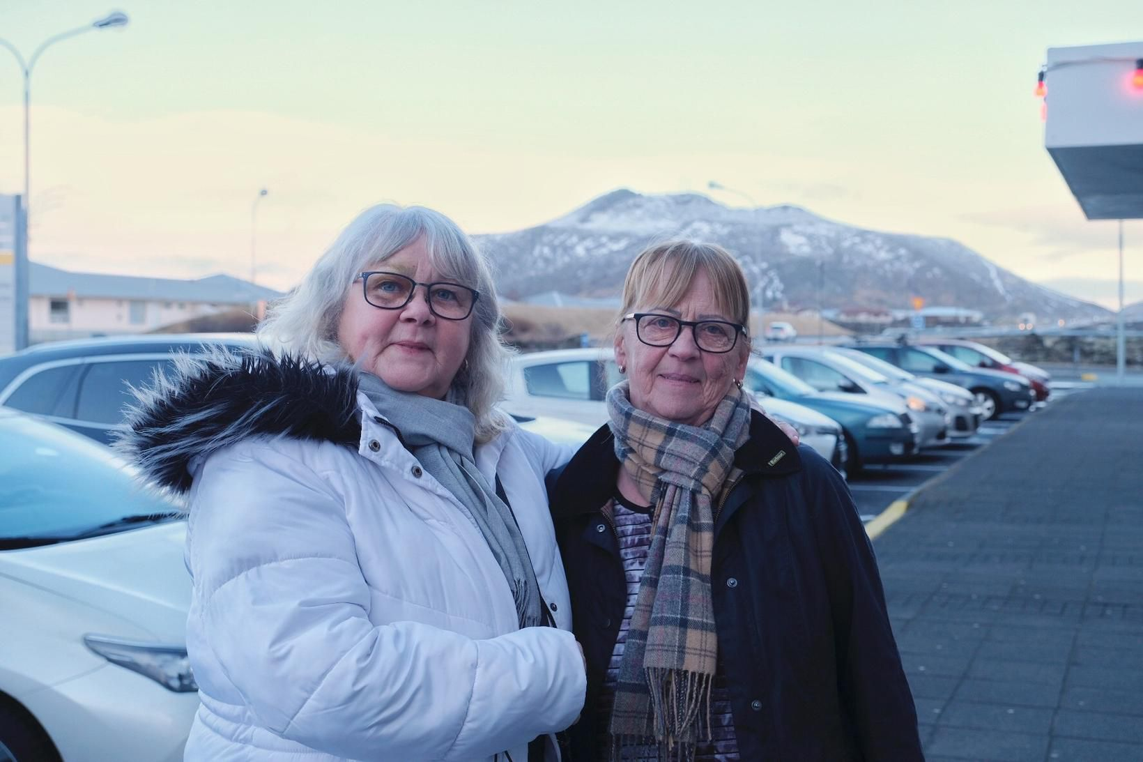 Þær Helga Þórarinsdóttir og Kristín Arnberg segjast hafa áhyggjur af …