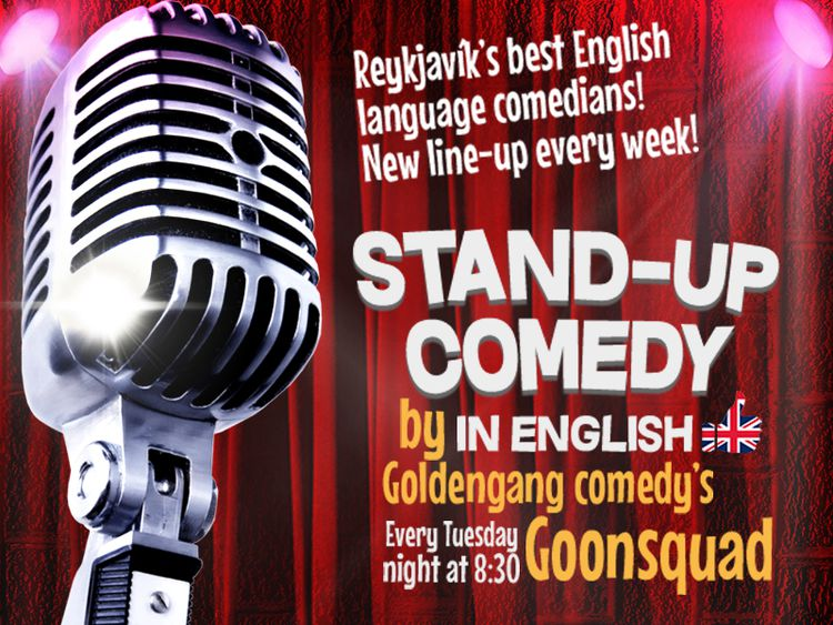 Stand-up in English