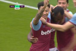 Mörkin: West Ham vann Lundúnaslaginn