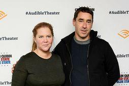 Amy Schumer og Chris Fischer.