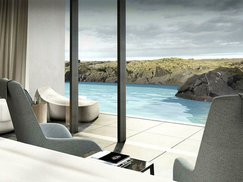 The Retreat is a new luxury hotel and spa at the Blue Lagoon.