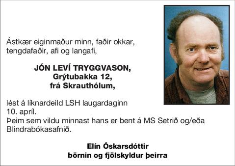 Jón Leví Tryggvason,