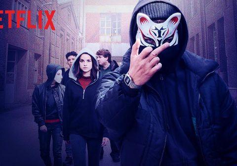 Skjáskot úr þýsku þáttunum We are the Wave sem sýndir eru á Netflix.
