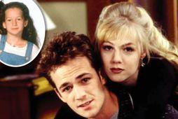 Beverly Hills 90210 voru afar vinsælir á síðustu öld.