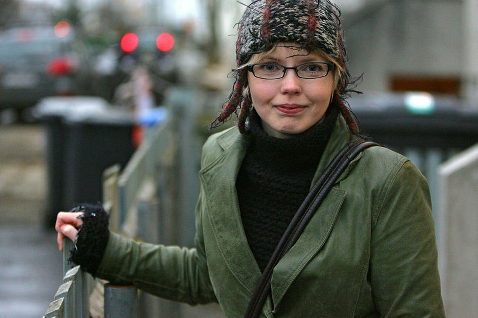 Steinunn Þóra Árnadóttir, þingmaður Vinstri grænna og varaforseti Alþingis.