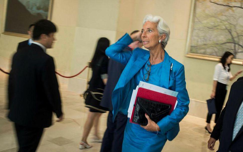 Christine Lagarde stýrir Alþjóða gjaldeyrissjónum (IMF).