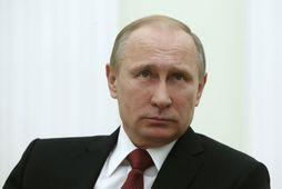 Vladímír Pútín Rússlandsforseti.