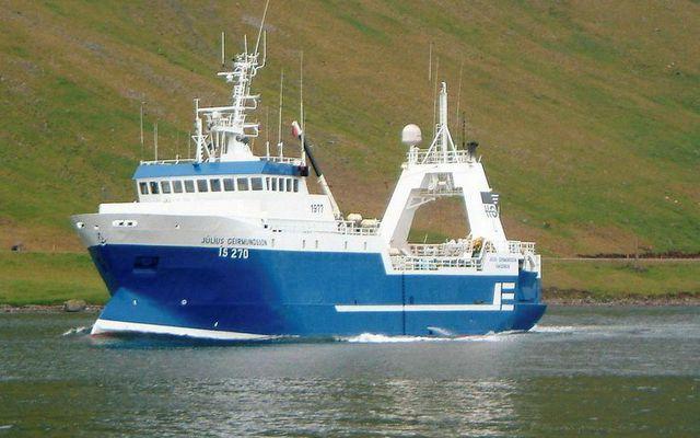 Júlíus Geirmundsson ÍS 270.