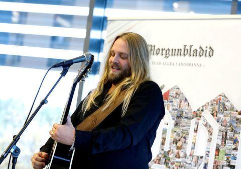 Eyþór Ingi Gunnlaugsson er með leyndan hæfileika.