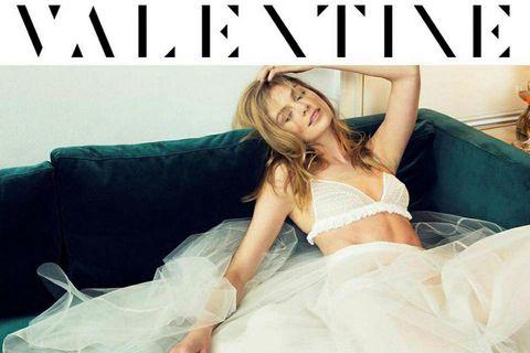 Sigrún Eva Jónsdóttir on the cover of Valentine.