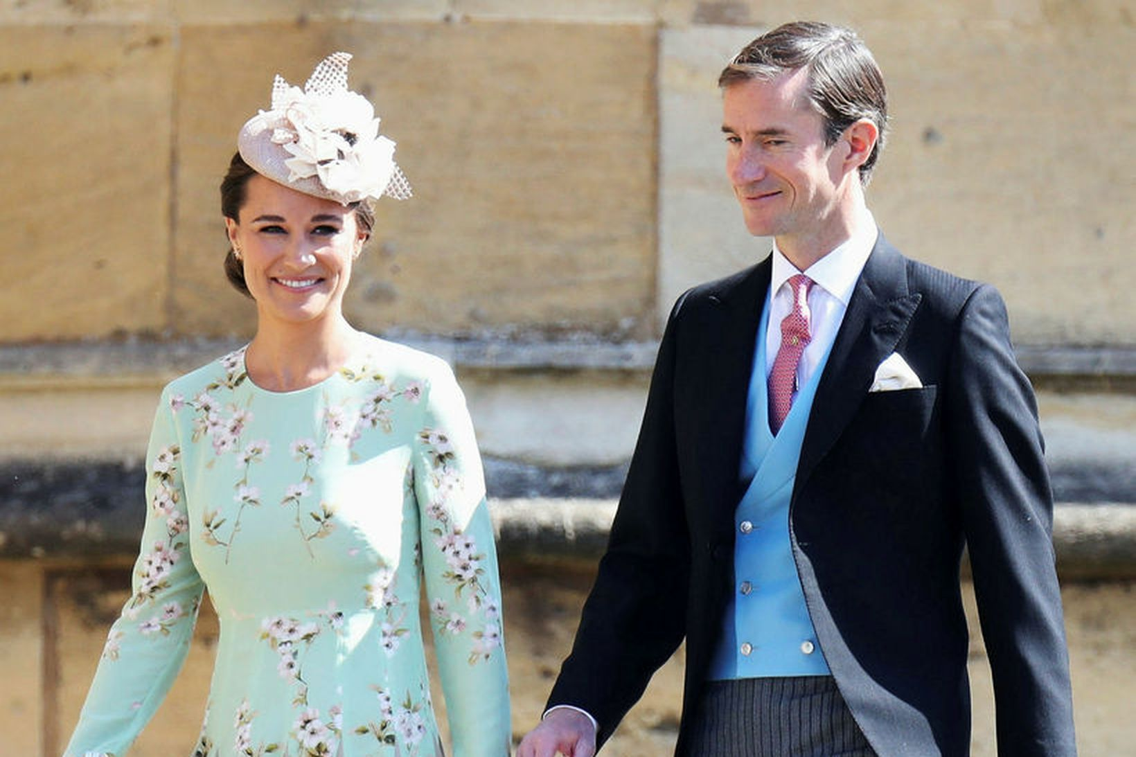 Pippa Middleton og James Matthews eiga nú tvö börn, strák …