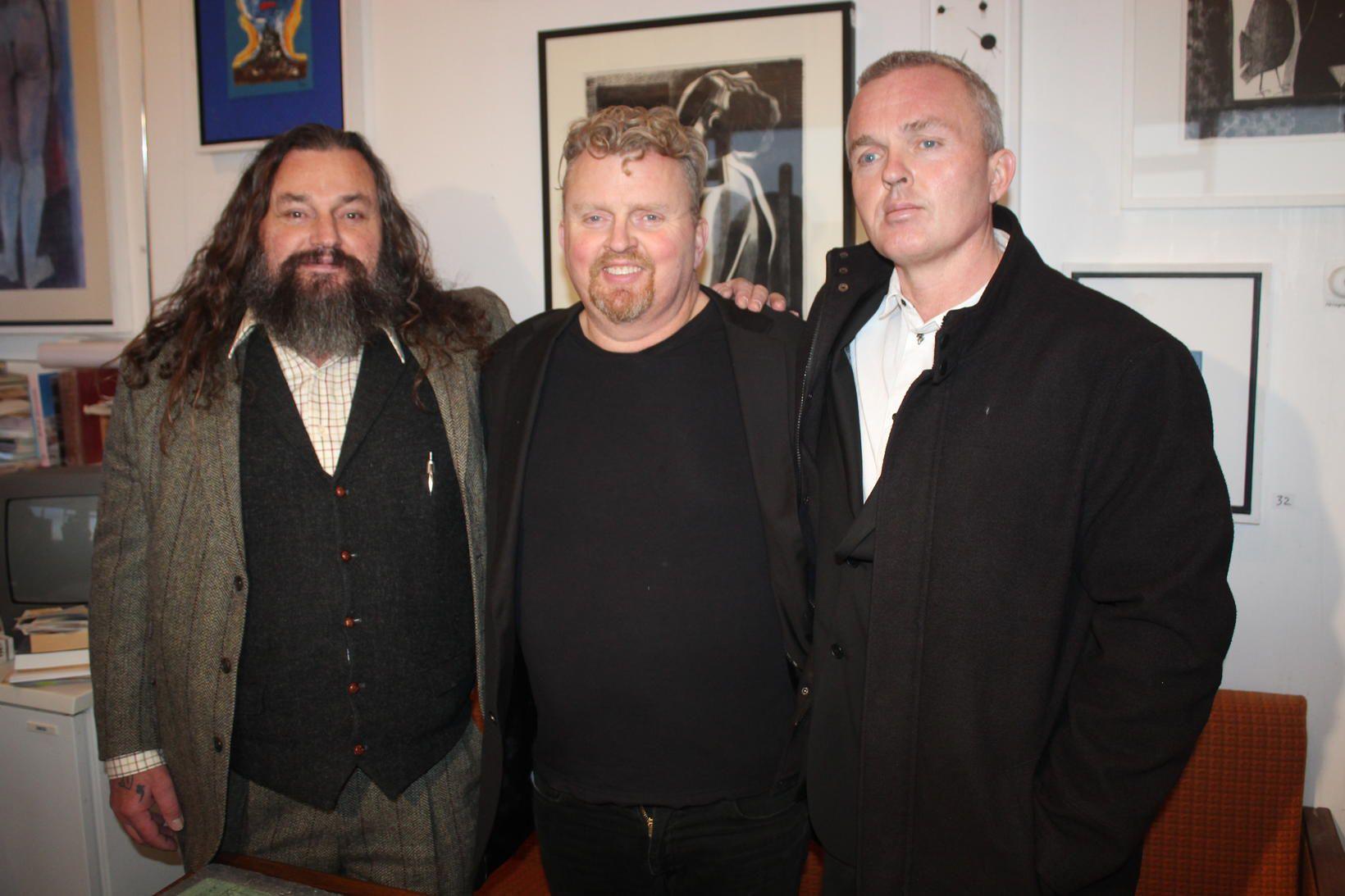 Bræður. Fjölnir, Ásgeir og Símon Ásgeirssynir.