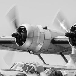 Catalina-flugbátur kvaddur