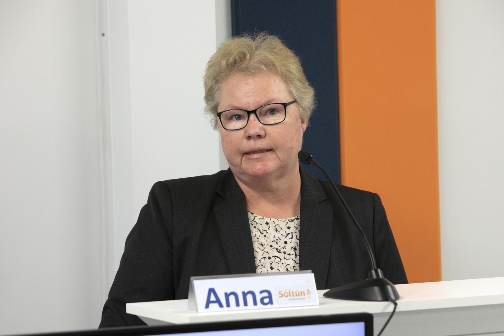 Anna Birna Jensdóttir, framkvæmdastjóri hjúkrunarheimilisins Sóltúns, verður gestur fundarins.
