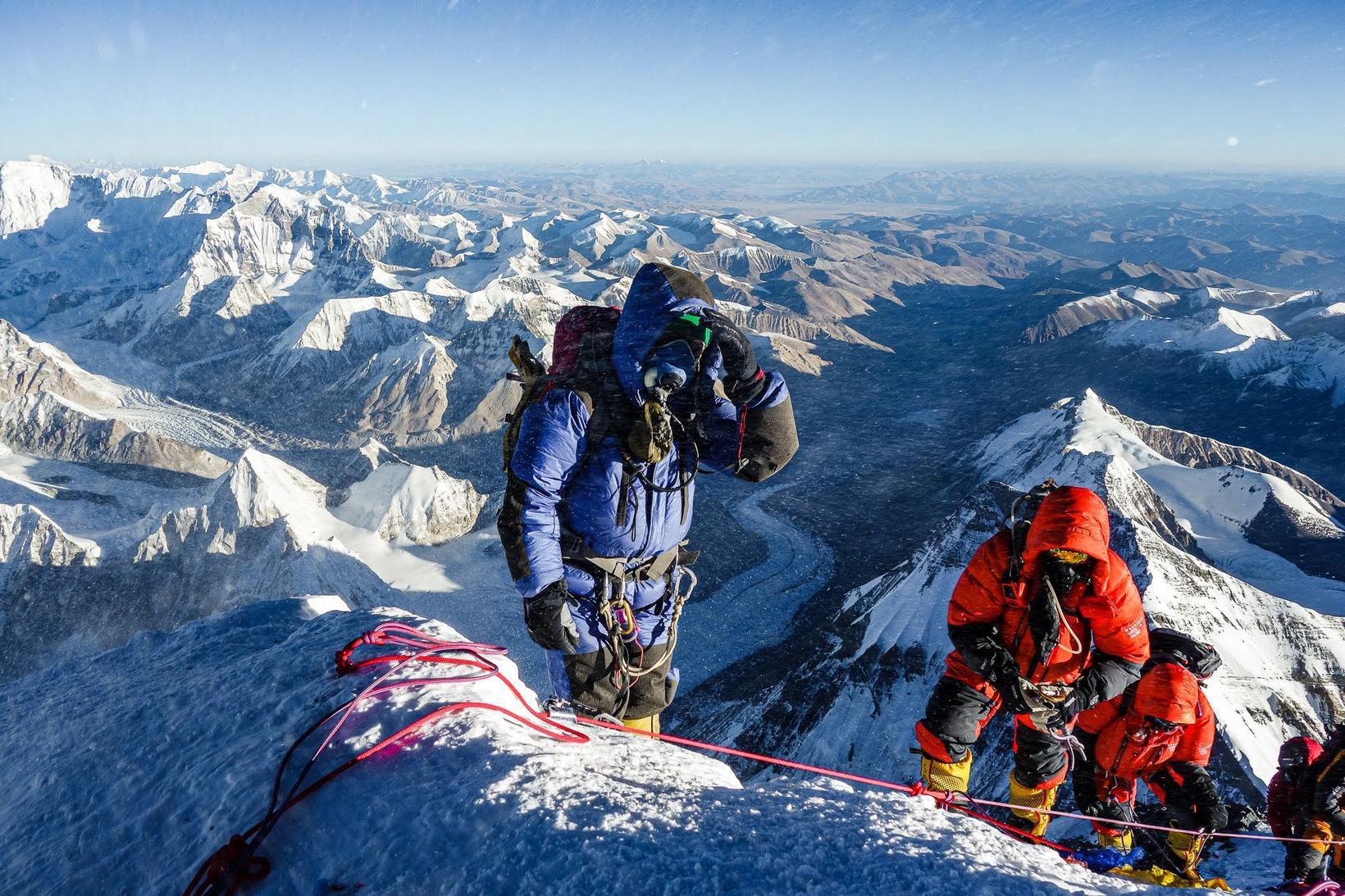 Sigurður Bjarni Sveinsson og Heimir Fannar Hallgrímsson eru í Nepal.