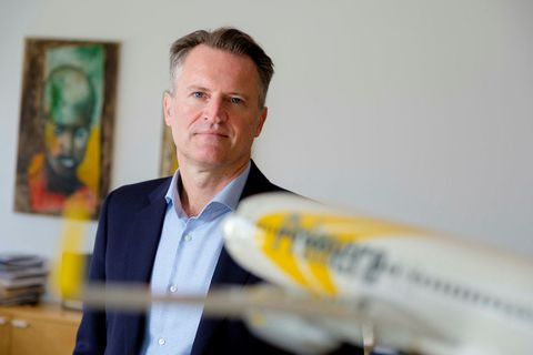 Andri Már Ingólfsson, owner of Primera Air which went bankrupt on Monday.