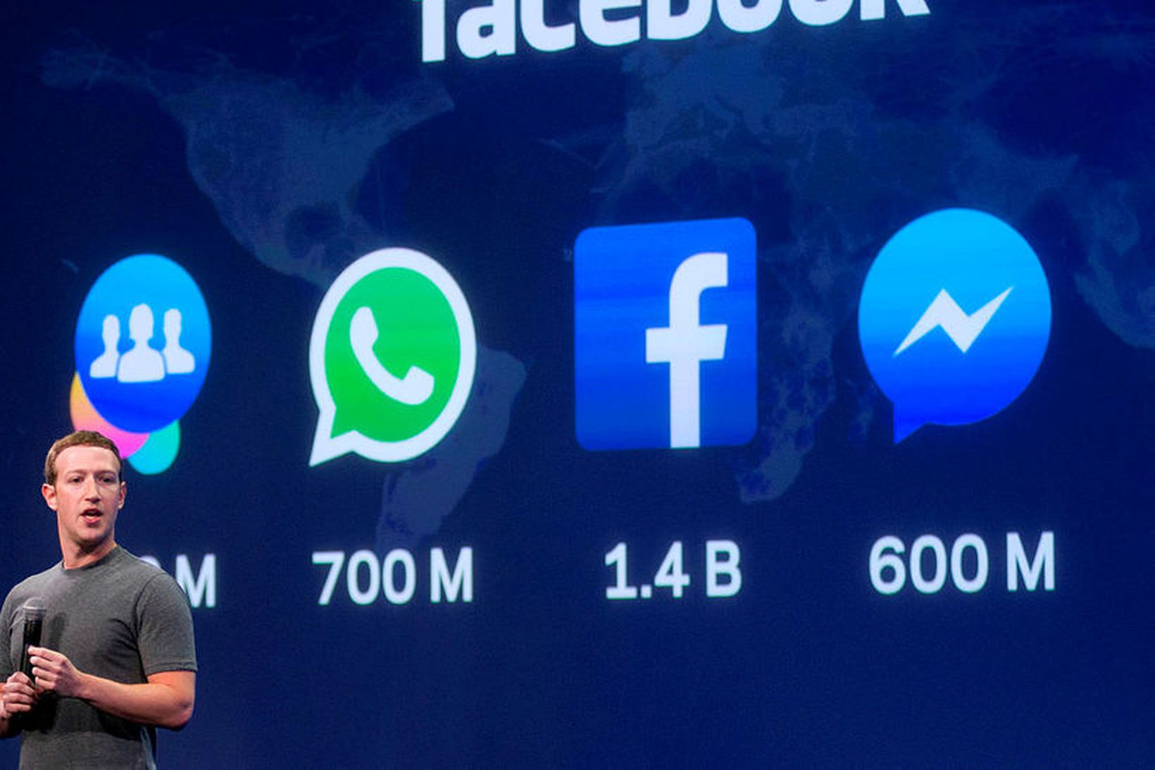 Mark Zuckerberg, forstjóri Facebook.