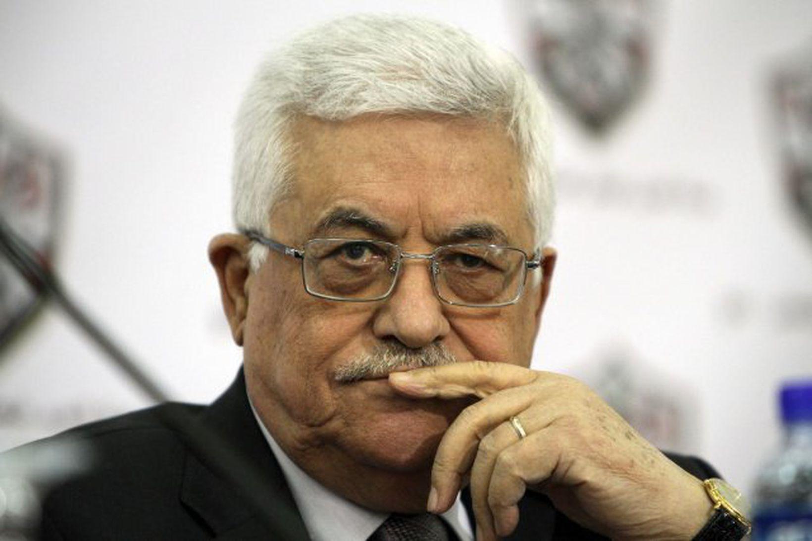 Mahmud Abbas, forseti Palestínu.