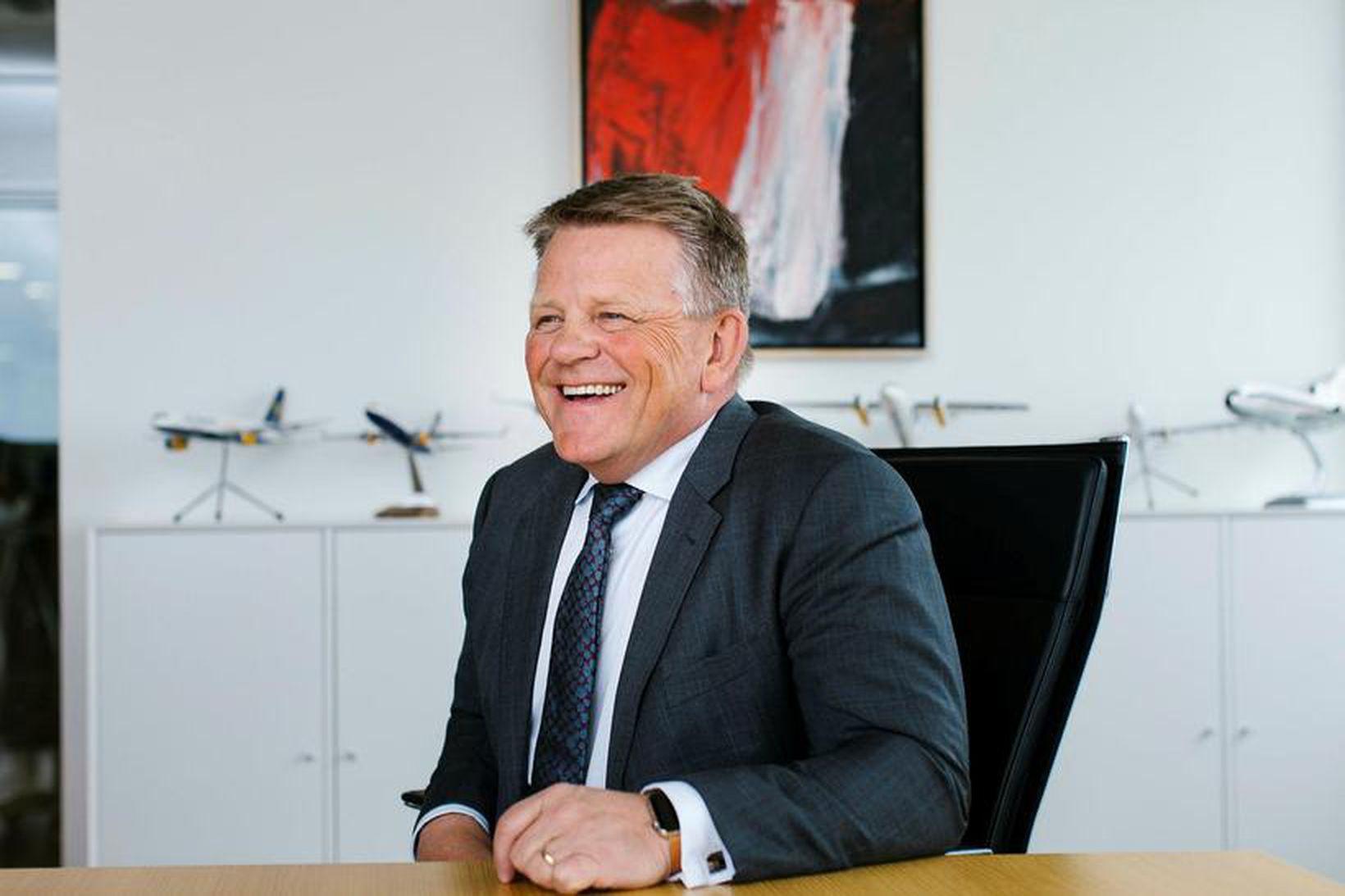 Björgólfur Jóhannsson, forstjóri Icelandair Group.