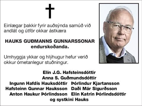Hauks Guðmanns Gunnarssonar