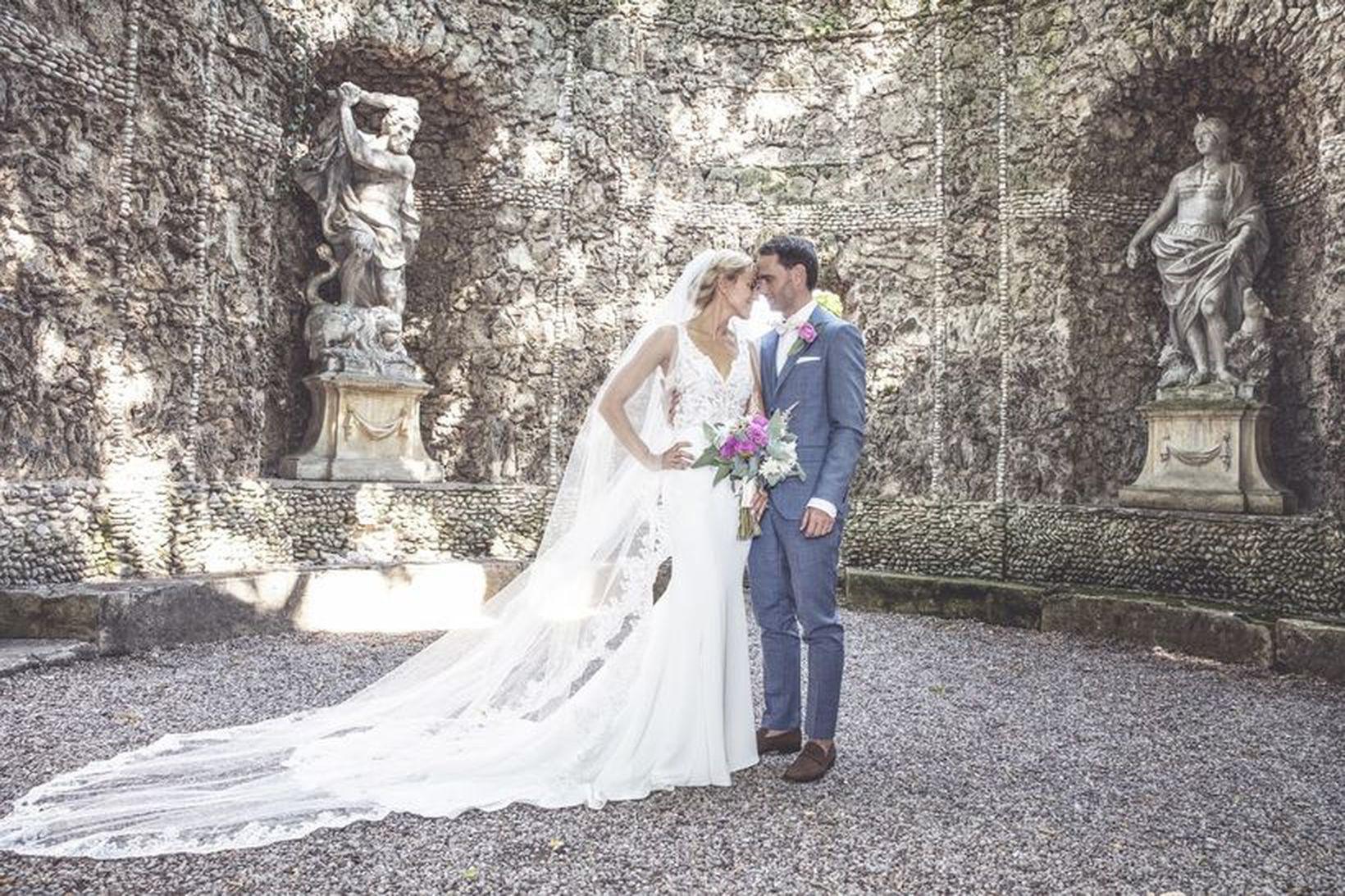 Ragnhildur Steinunn og Haukur Ingi giftu sig á Ítalíu. Ljósmyndarinn …