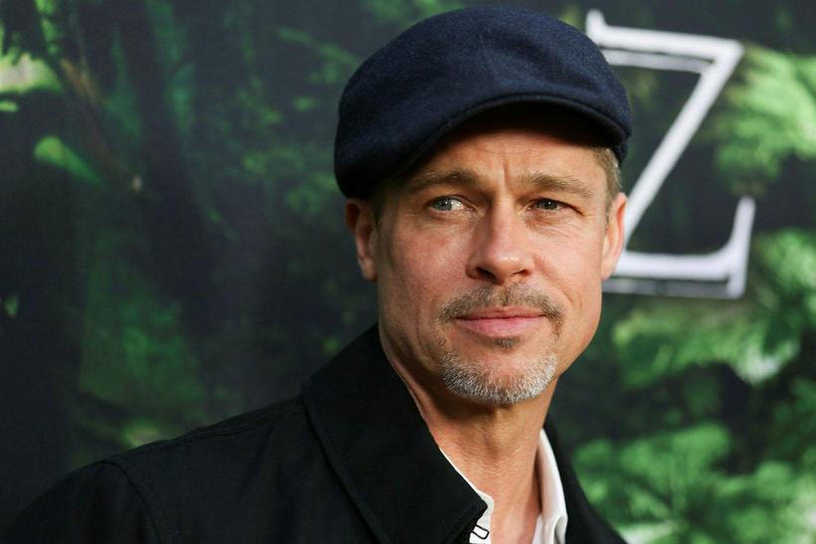 Brad Pitt er með fallegt andlit, en hann vill ekki …