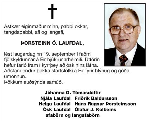 Þorsteinn Ó. Laufdal,