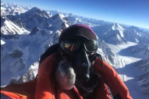 Nirmal Purja fór á topp K2 án súrefnisbirgða