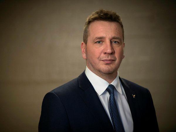 Icelandic Minister for Foreign Affairs Guðlaugur Þór Þórðarson.