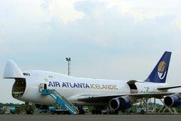 Boeing 747-400 vöruflugvél Atlanta.