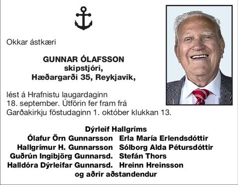 Gunnar Ólafsson