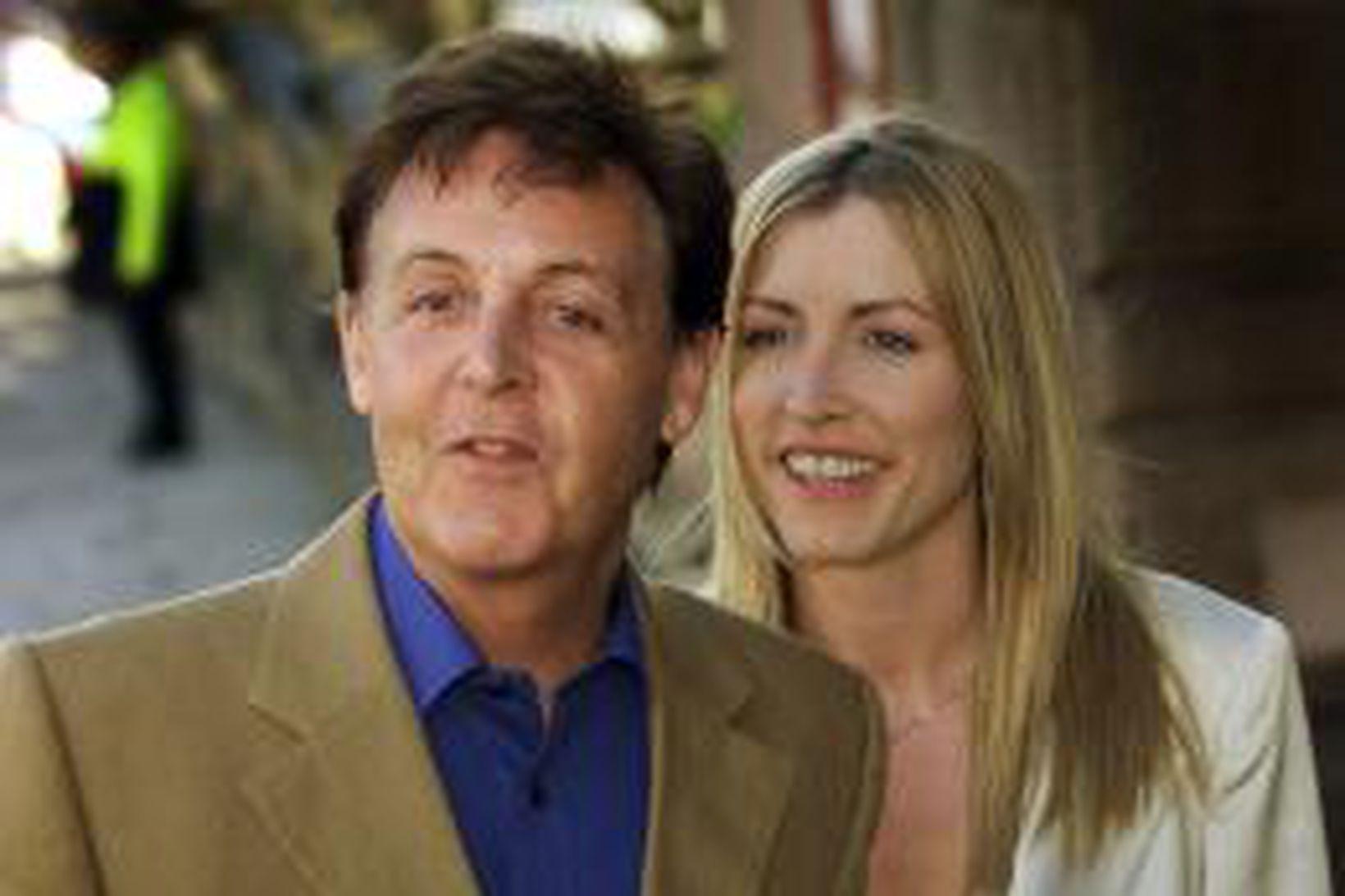 Paul McCartney og Heather Mills McCartney.