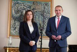 Eliza Reid og Guðni Th. Jóhannesson.