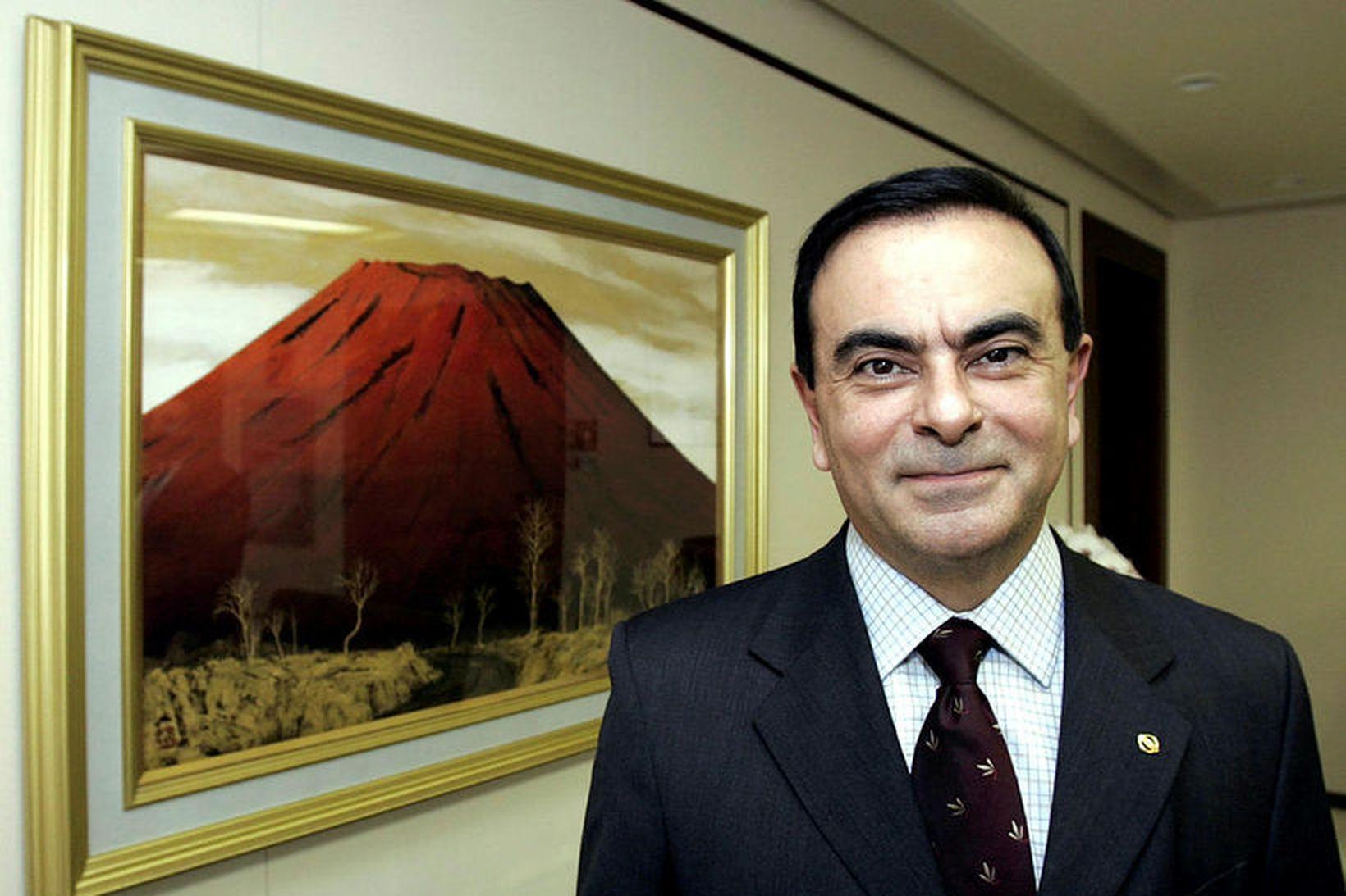 Carlos Ghosn, fyrrverandi forstjóri bifreiðaframleiðandans Nissan, er á flótta undan …