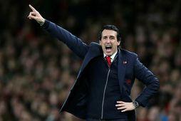 Unai Emery var rekinn frá Arsenal um síðustu mánaðamót.