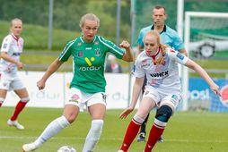 Alexandra Jóhannsdóttir og stöllur hennar í Breiðabliki mæta Paris SG í kvöld.