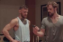 Conor McGregor og Gunnar Nelson eru góðir félagar.