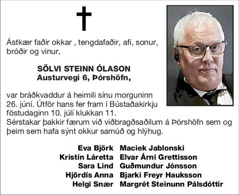 Sölvi Steinn Ólason