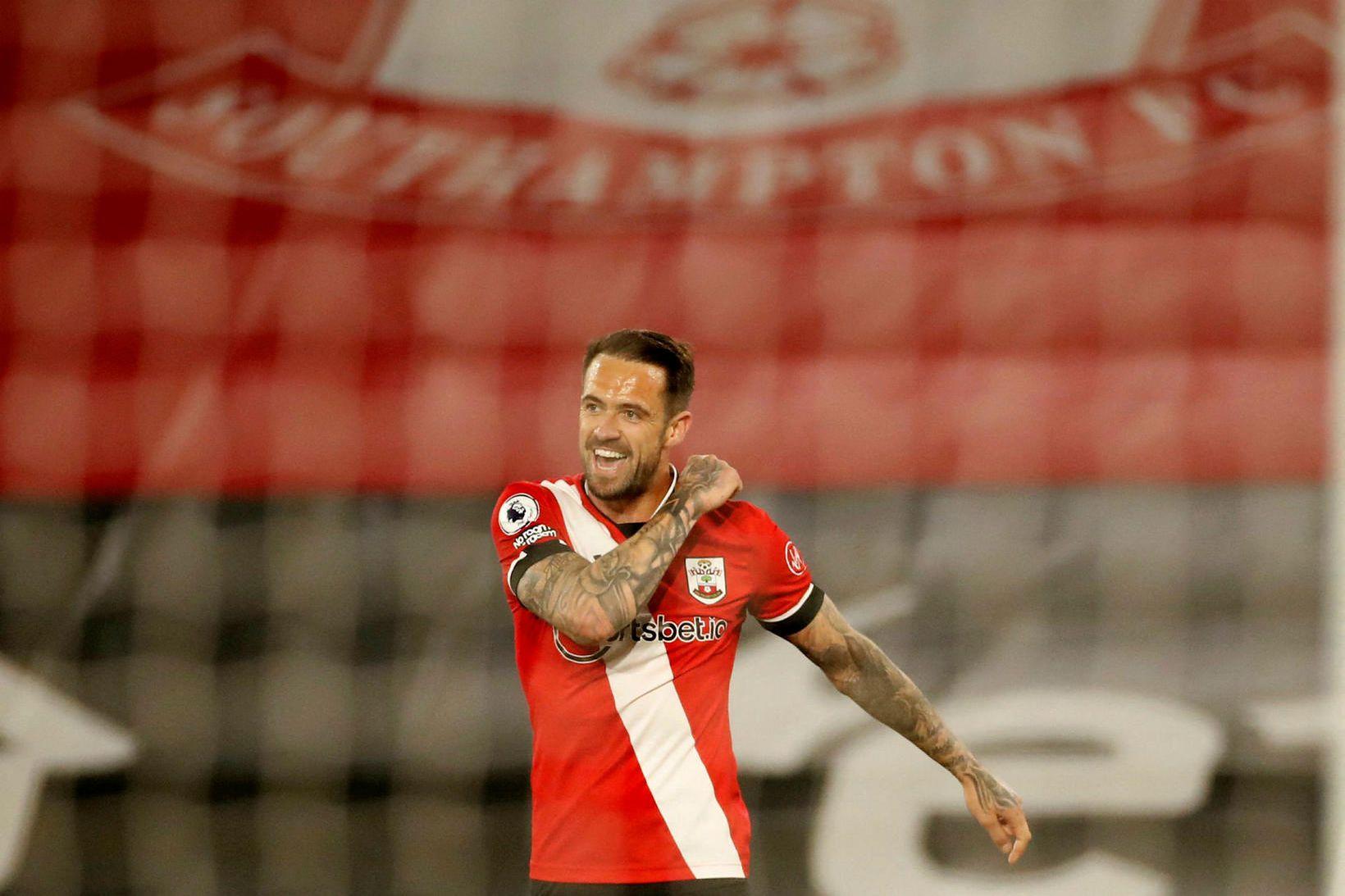 Danny Ings fór mikinn fyrir Southampton í kvöld.