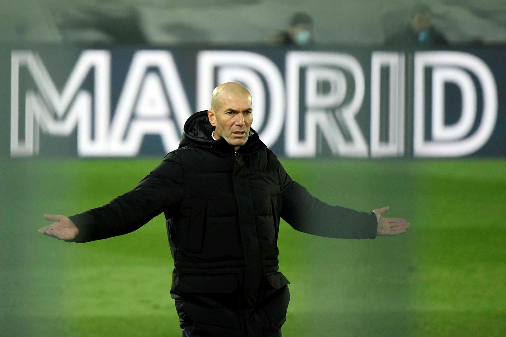 Zinedine Zidane er með kórónuveiruna.