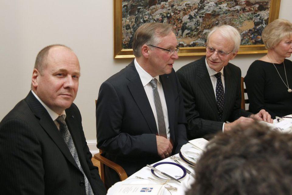 Arnaldur Indriðason og Halldór Guðmundsson.