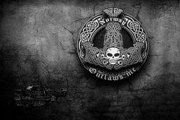 Skjáskot af vefsvæði norsku vélhjólasamtakanna Outlaws, en talið er að íslensku samtökin séu sprottin þaðan.