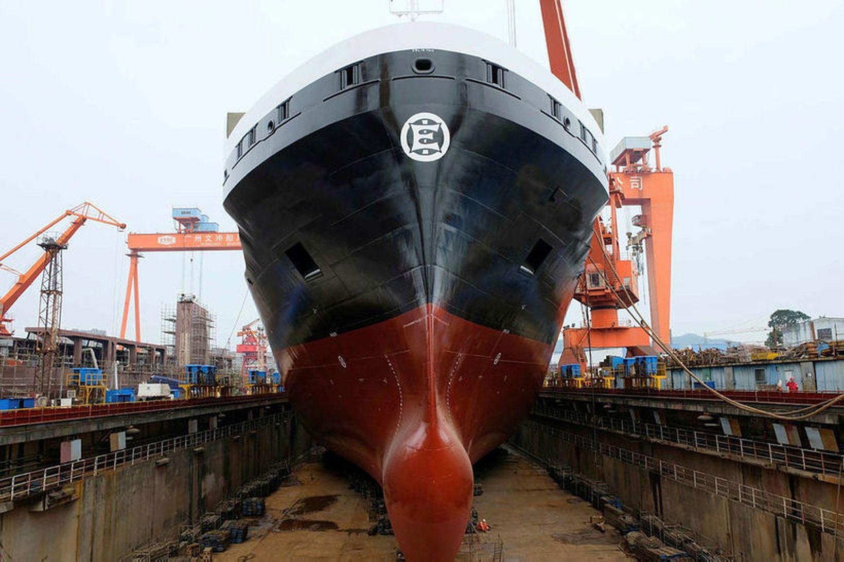 Nýju skipin verða stærstu skip íslenska flotans, 26.500 brúttótonn.
