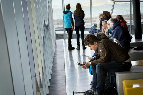 Over 3000 visitors are expected to visit Harpa this summer.