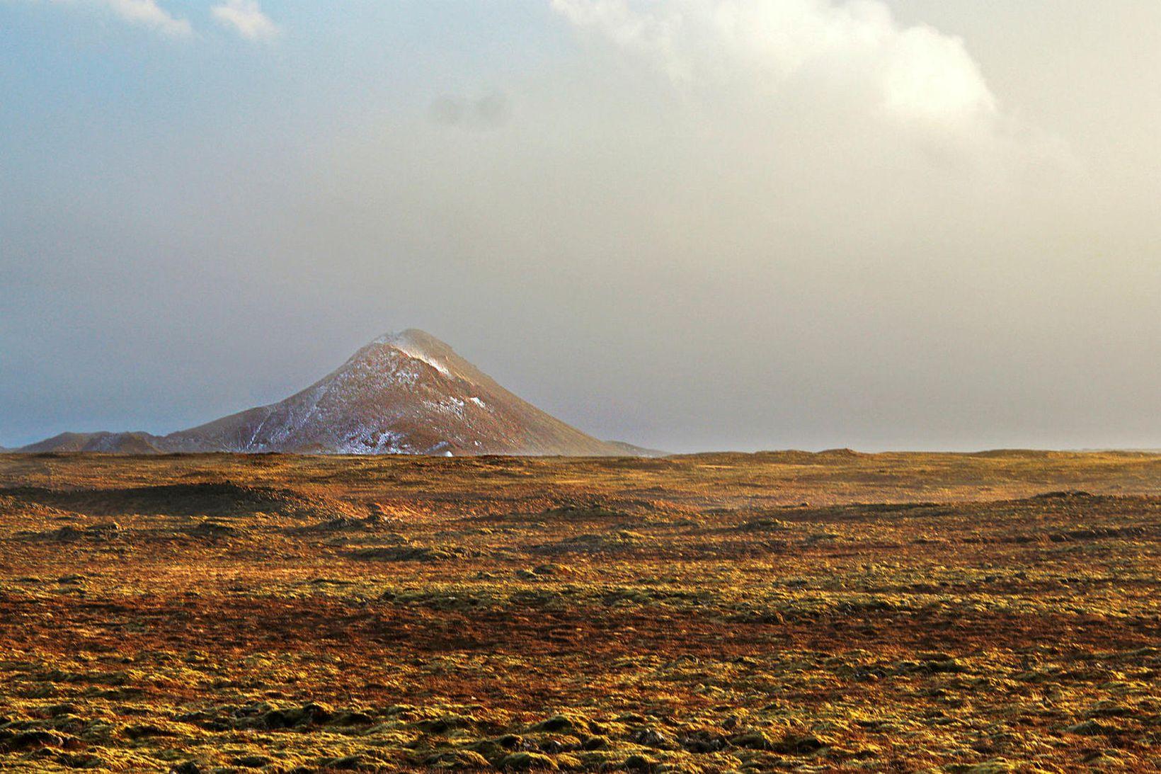 Ef gýs er talið líklegast að eldsupptök verði á svæðinu …