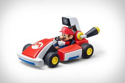 Mario á körtu sinni.