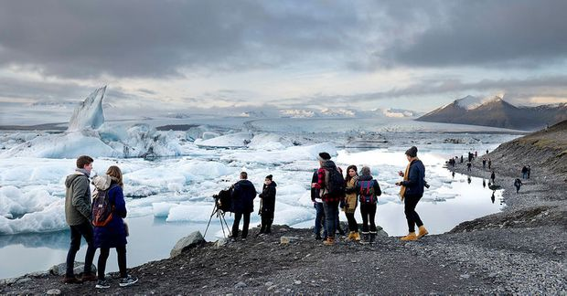 Jökulsárlón á Breiðamerkursandi, eða Diamond Beach, er talin vera ein sú besta í Evrópu.