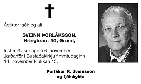 Sveinn Þorláksson,