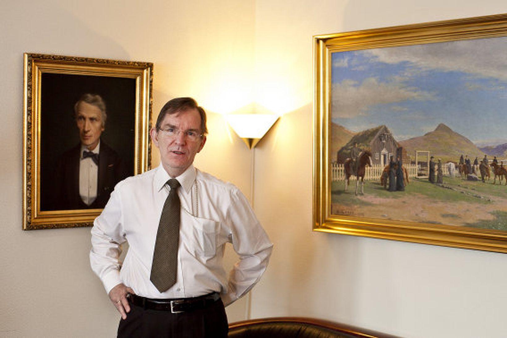 Karl Sigurbjörnsson biskup Íslands.