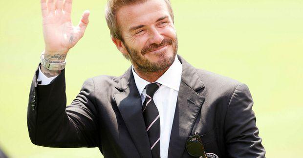 David Beckham er sendiherra HM 2022 í Katar.